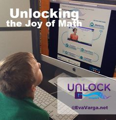 "UnLock Math offers an excellent interactive pre-algebra curriculum with several features that were appealing to my son. ""Mom, I really like Unlock Math."""