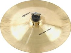 """Agazarian Traditional China 12"""" by Agazarian. $29.99. Agazarian cymbals are individually handmade with manufacturing techniques that were pioneered hundreds of years ago. Each cymbal has its own perfected, yet unique acoustic characteristics. The distinctive cymbals shown here will certainly add unique aggressive color to your kit.. Save 76% Off!"""