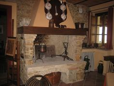 I Will Have A Cooking Fireplace In My Dream Kitchen