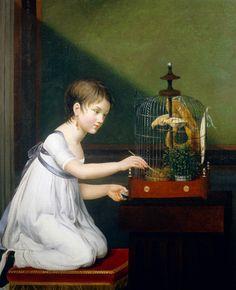 girl_with_a_birdcage_jeanne_elisabeth_chaudet.jpg (910×1122)