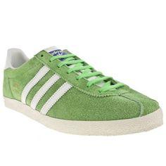 premium selection 7928d ccbb9 Men s Green Adidas Gazelle Og at schuh  schuh  sale  adidas Adidas Og,