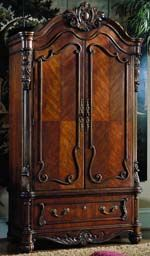 Edwardian Armoire by Pulaski Furniture - The Online Furniture Store