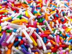 Everything is better with sprinkles!