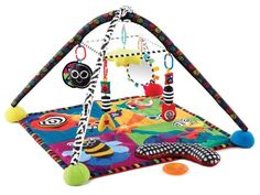 Sassy Developmental Rock And Roll Infant Play Gym  -Click image twice for more info - See a larger selection of  Baby activity play centers  at  http://zbabybaby.com/category/baby-categories/baby-activity-gear/baby-activity-play-centers/  - gift ideas, baby, baby shower gift ideas, kids, toddler « zBabyBaby.com