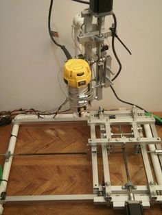 DIY 3-axis CNC router