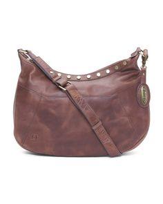 Leather Daria Crossbody