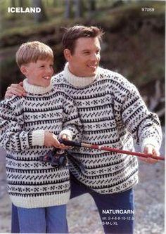 Dyrehandler Clausens sweater, www. Free Knitting, Knitting Patterns, Sweater Patterns, Bowl Haircuts, Icelandic Sweaters, Page Boy, Bindi, Men Sweater, Pullover