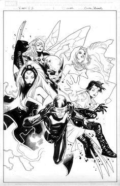 x-men 1 variant cover by MarkMorales on DeviantArt