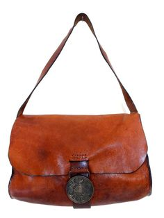 Amazing Rugged distressed leather bag di MLfinds su Etsy