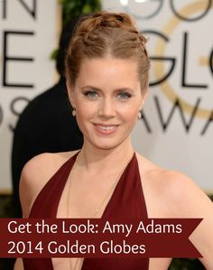 Get the Look: Amy Adams Golden Globes 2014 » Style on Main