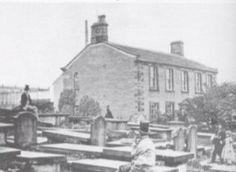 Haworth parsonage soon after Patrick Bronte's death