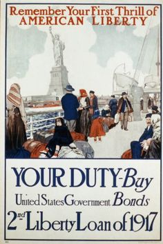 WWI, Oct 1917; Second Liberty Loan is launched. - WWI covered live (@ThisDayInWWI)   Twitter
