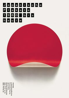 exhibition 'Japanese Posters 1960 to Today' , 1989: by Pierre Mendell