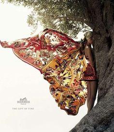 Hermes scarf 2012