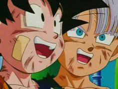 """""""Through each of your bodies, flows the blood of a warrior who brought truth and impossibility. You two...will do the same.""""-Piccolo speaking to the two Half-Blooded Super Saiyans. #SonGokuKakarot"""