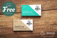 Clean business card psd mockup free graphic design resources free ci business card mockup on wooden table are really easy to use because of using smart layers present your corporate identity better colourmoves