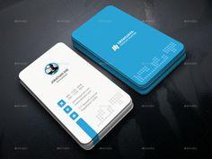 Vertical Circle Business Card