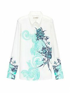 ETRO Floral Print Shirt | ETRO Women's Shirts SS 14