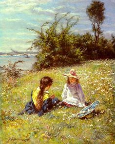 Impressioni Artistiche : ~ William John Hennessy ~ Irish artist, 1839-1917