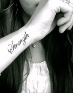 Cute Small Wrist Tattoos For Girls #tattoo #girls #wrist www.loveitsomuch.com http://tattoo-ideas.us