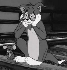 tom e jerry Mood Wallpaper, Disney Wallpaper, Cartoon Wallpaper, Cartoon Icons, Cartoon Memes, Cartoon Art, Tom Und Jerry, Tom And Jerry Wallpapers, Tom And Jerry Cartoon