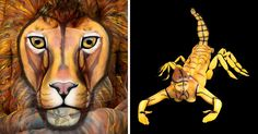 Artist Illustrates 12 Astrological Symbols Using Human Bodies As Her Canvas | Bored Panda