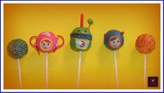 Team Umi Zoomi Cake Pops