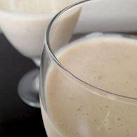 Taro Milkshake - plentytude  <3 <3 <3 recipe below pic.