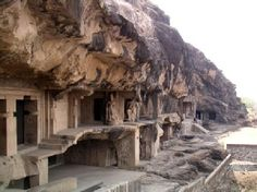 Elephanta Caves in Mumbai Harbor, Mahārāshtra