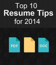 Top 10 Resume Tips