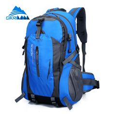 2016 Unisex Water Resistant Nylon Campamento Mochila Camping Climbing Outdoor Sport Hiking Bag Traveling Desporto Backpack