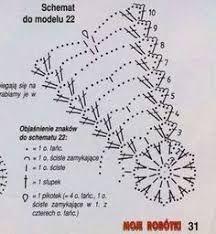 Resultado de imagen para schemy na háčkované zvonečky