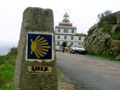 In Fisterra (gal.) bzw. Finisterre (span.) in Galicien in Spanien an der Atlantikküste endet der Jakobsweg (Camino de Santiago). | © Erhard Stumpe (epmuts) / pixelio.de