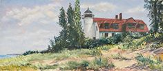 Betsie Point Lighthouse by Jane Nemecek
