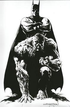 Batman and Swamp Thing