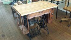 Sewing table #humboldt #humboldtmade #upcycle