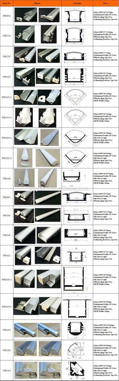 Anodized Aluminum Channel triangle for led tap light/led tap light aluminum profile heat sink