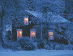"""""""Hang the mistletoe by the fire's glow, put the angel on the tree.  Light a candle in the window just for me..."""""""