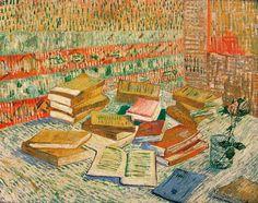 Vincent van Gogh Parisian Novels Yellow Books 1887