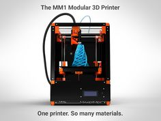 The MM1 adapts as quickly as the technology that surrounds it. Capable of printing single, dual, paste extrusions, and more...