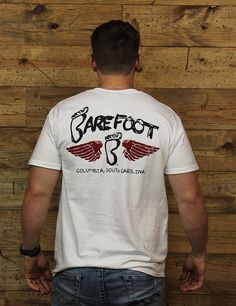 Check out this new Barefoot wing tee for Columbia, South Carolina!