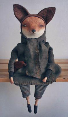 Марина Глебова и её стильные куклы. МишкаГрад 2016