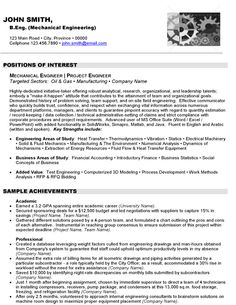 click here to download this mechanical engineer resume sample httpwww - Mechanical Site Engineer Sample Resume