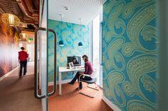 Inside Of Google Office In Dublin