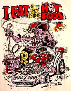 2-PACK RAT ROD HOT ROD CHOPPER VINTAGE RACING RAT FINK  TOOLS  PERFECTION GEAR