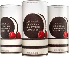 William-Sonoma : Ice Cream Sandwich Cookies / Packaging