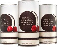 William-Sonoma : Ice Cream Sandwich Cookies / Packaging