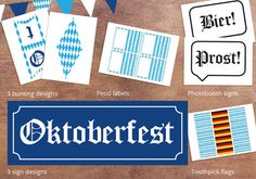 Complete Oktoberfest Party Pack Printable by TreharneCreative