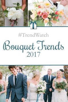 Top Bridal Bouquet Trends for 2017