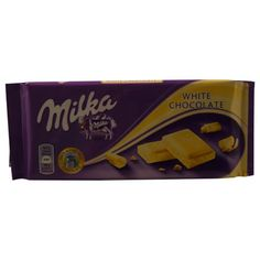 Milka White Chocolate 100g >>> Want additional info? Click on the image.